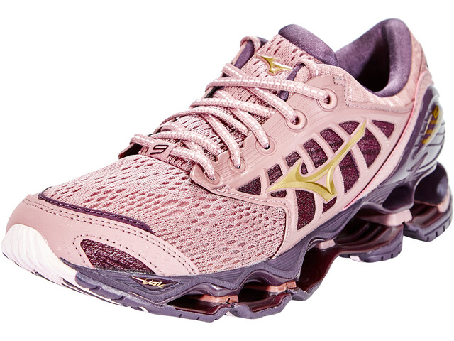 Mizuno Wave Prophecy 9 Shoes Women wood rose/gold/plum perfect